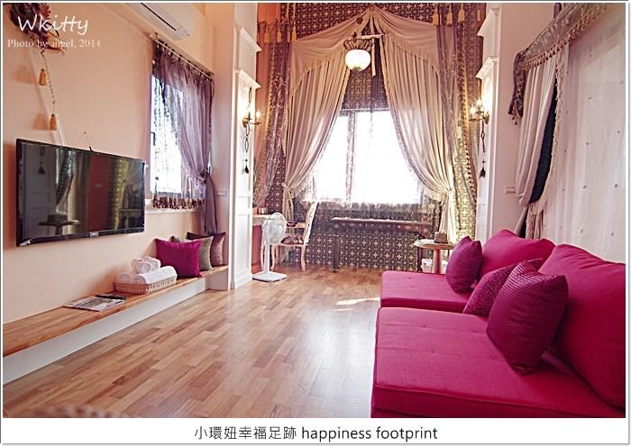 【宜蘭民宿】爵士館♥離歐洲最近的地方,黃澄澄的歐洲幸福城堡! @小環妞 幸福足跡