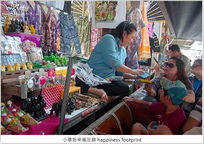 丹能莎朵水上市場,曼谷景點推薦,泰國 水上市場,泰國丹能莎朵水上市場,泰國景點推薦,泰國自由行 @小環妞 幸福足跡