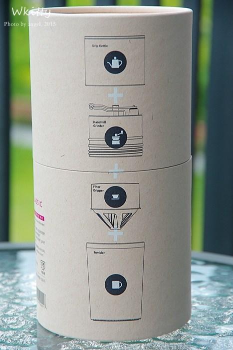 【推薦】韓國Cafflano Klassic All-in-one咖啡研磨隨行杯,隨時隨地沖泡一杯「專屬於自己」的咖啡,多功能一瓶多用! @小環妞 幸福足跡