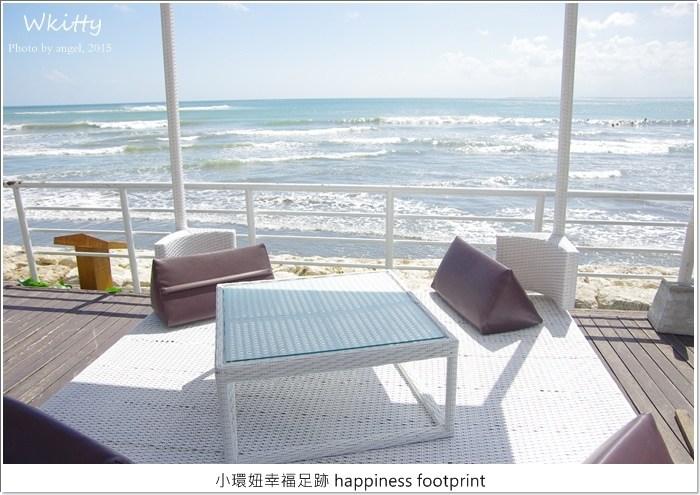 【峇里島餐廳推薦(8)】邊泡腳邊看沙灘美景邊吃美食,OCEANS27 Beach Club & Grill餐廳(DISCOVERY 百貨內) @小環妞 幸福足跡