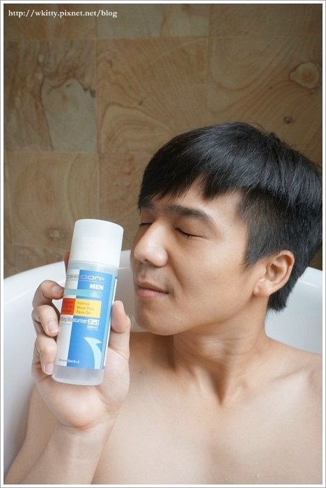 PoseidonTx 波塞頓,男仕控油保濕DUO in1,專為男性設計的保養品! @小環妞 幸福足跡