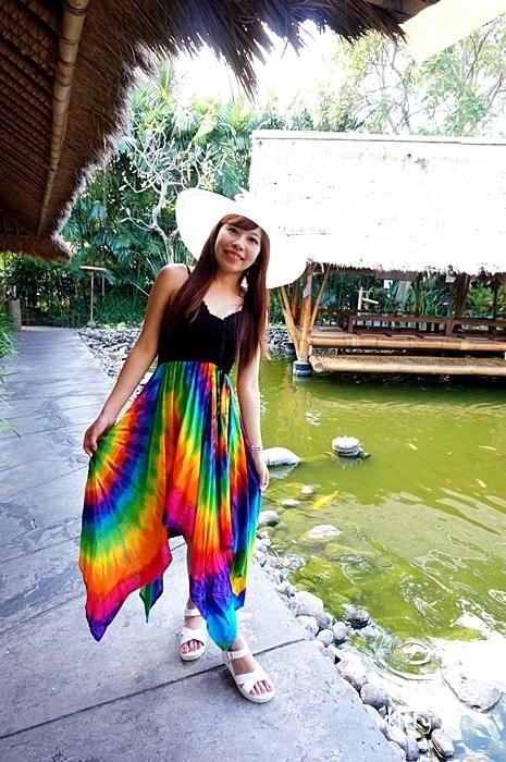 【峇里島必吃餐廳推薦(33)】Bale Udang 水上餐廳,食尚玩家介紹,風景超美的水上發呆亭! @小環妞 幸福足跡
