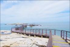 [金門景點]˙復國墩 ♥ 木頭棧道延伸到海中央,你敢挑戰嗎?