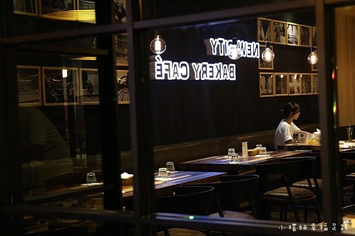 【美麗新廣場NEW SQUARE美食】New City Bakery Café,工業風餐廳,知名烘焙品牌麵包! @小環妞 幸福足跡