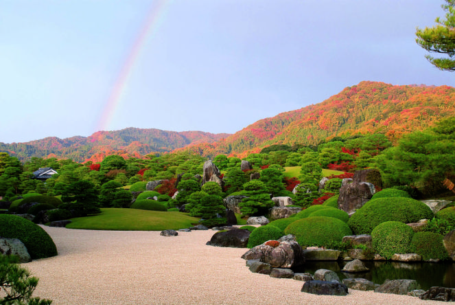 【日本島根旅遊】足立美術館,島根必去景點,日本第一日式庭園(4) @小環妞 幸福足跡