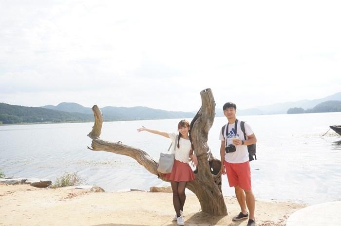 【韓國京畿道一日遊行程】楊平兩水頭,韓劇她很漂亮拍攝景點,美麗的畫框(2) @小環妞 幸福足跡