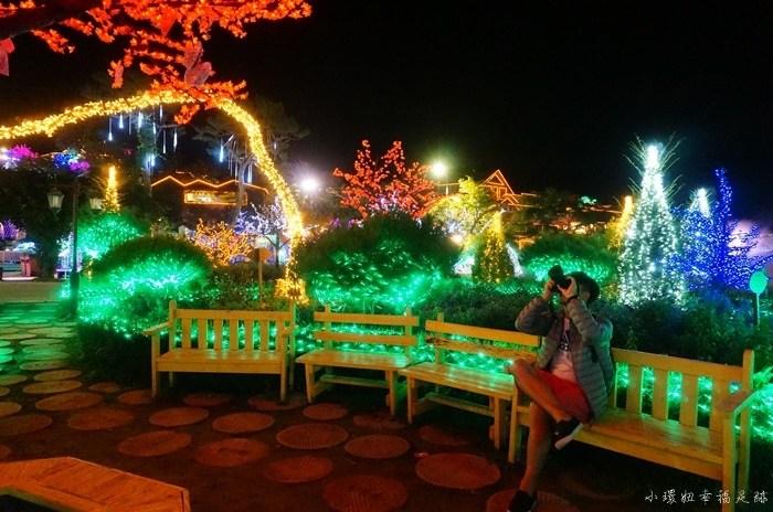 【韓國一日團行程】香草島樂園Herb Island,首爾近郊京畿道一日遊推薦,夢幻童話小鎮夜景(5) @小環妞 幸福足跡