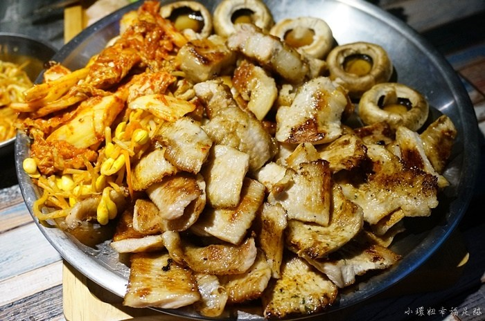 台北燒烤店,台北韓式烤肉,咚咚家,咚咚家燒肉,咚咚家韓式豬肉,國父紀念館美食,大安區美食 @小環妞 幸福足跡