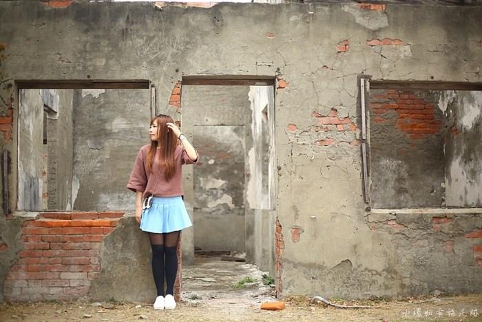 【彰化IG打卡景點】蛤蜊兵營,IG熱門廢墟風格,創意照片超好拍 @小環妞 幸福足跡
