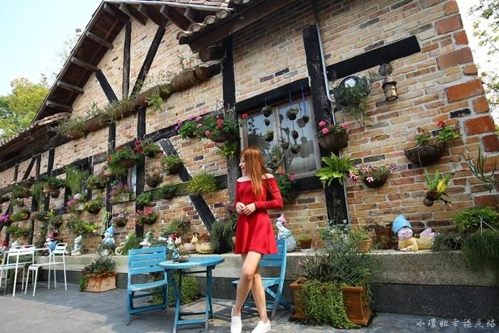 【南投咖啡廳】文心園花園咖啡,童話小屋景觀咖啡店超好拍! @小環妞 幸福足跡