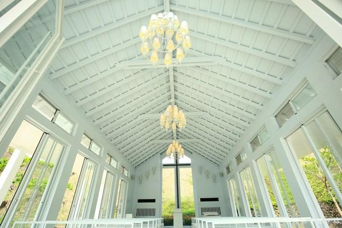 【台南玉井景點】隱田山房,山林裡清幽的白色教堂,值得一訪! @小環妞 幸福足跡