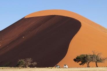 Dune 45 to najczęściej zdobywana wydma Sossulvlei