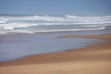 Ostatnie spojrzenie na plażę...