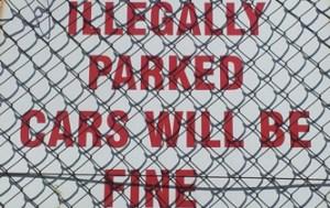 A jeśli źle zaparkujecie to NAPRAWDĘ nie problem - przynajmniej wg tego znaku!