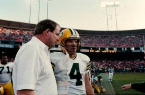 Brett Favre Mike Holmgren Packers