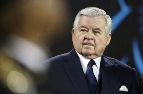 Panthers owner Jerry Richardson AP