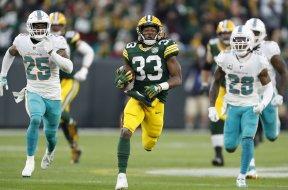 Packers Aaron Jones AP