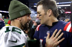Aaron Rodgers, Tom Brady