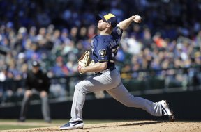 Brewers Chase Anderson spring training AP