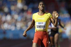 Olympic runner Caster Semenya AP