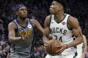Bucks Giannis Pacers Turner AP