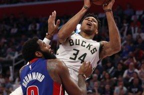 Bucks GIannis over Drummond AP