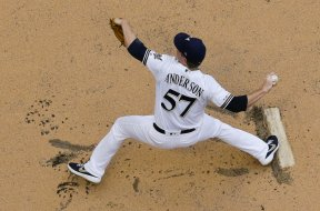 Brewers Chase Anderson above AP