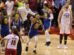 Steph Curry Game 5 AP