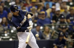 Brewers Keston Hiura AP