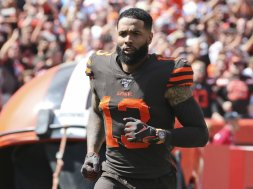 Browns Odell Beckham watch AP