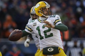 Packers Aaron Rodgers NFC title 2010 AP