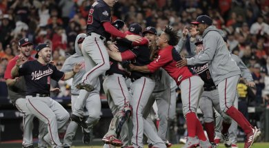 Washington Nationals World Series win AP