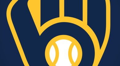 Brewers old glove Logo