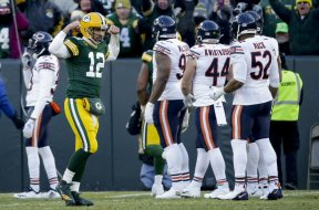 Packers Aaron Rodgers flex bears AP