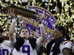 LSU Joe Burrow AP