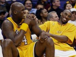 Lakers Shaq Kobe AP