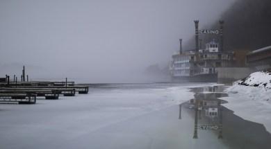 Mississippi River Iowa Frozen