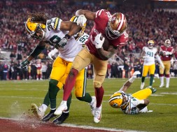APTOPIX NFC Championship Packers 49ers Football