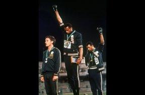 Olympics Tommie Smith Black Power AP