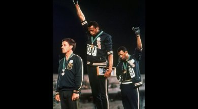 Olympics Tommie Smith Black Power AP