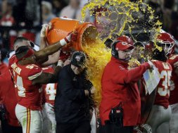 Chiefs Andy Reid Gatorade AP