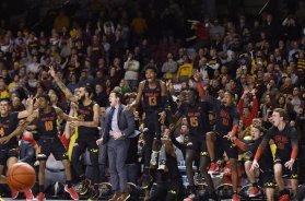 Maryland celebrates vs Minnesota AP