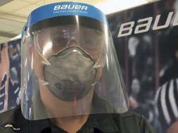 Bauer hockey coronavirus masks