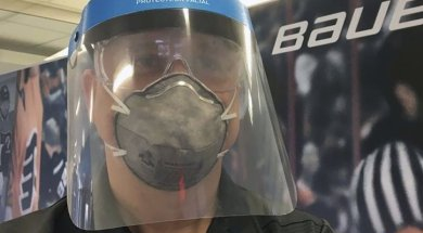 Bauer hockey coronavirus masks