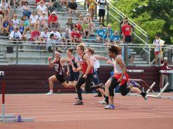 WIAA track Holmen 110 hurdles
