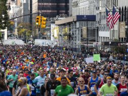 New York marathon AP