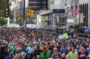 New York marathon AP
