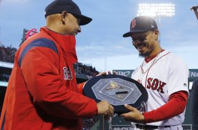 AL MVP award Cora Boston Red Sox AP