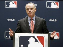 MLB Rob Manfred AP