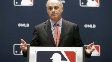 MLB Rob Manfred AP